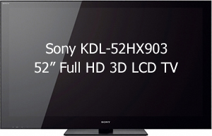 Find Best Price Sony 52 Inch 3dtv Kdl52hx903